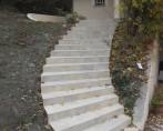 escalier a la romaine BRIE ET ANGONNES