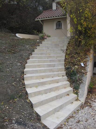 Escalier à la romaine