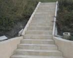 escalier en carrelage BRIE ET ANGONNES_chalets