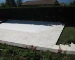 terrasse piscine en pierre BIVIER